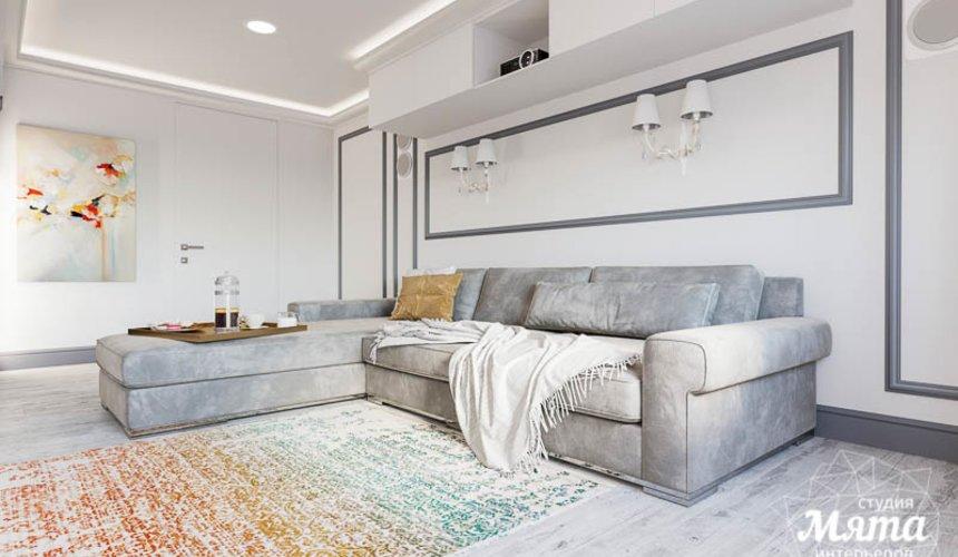 Дизайн интерьера домашнего кинотеатра в коттедже п. Кашино 9