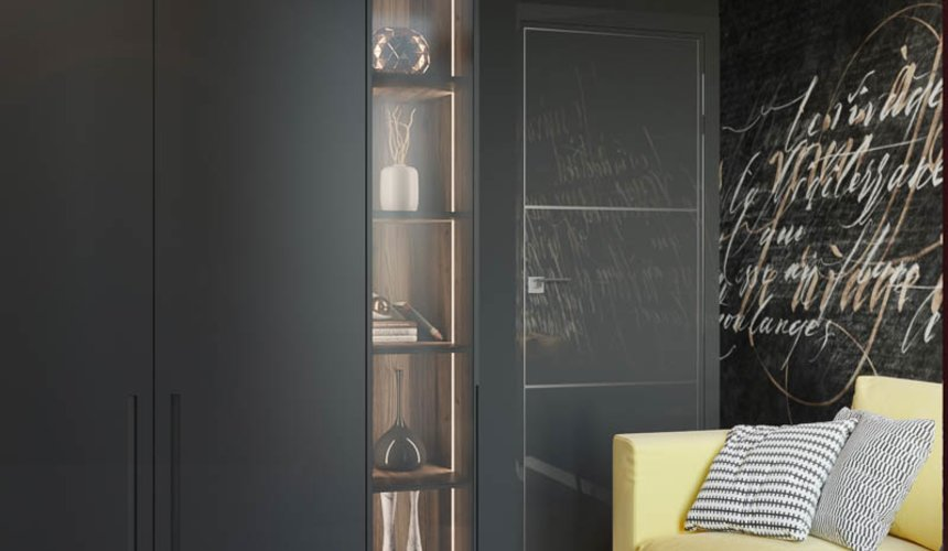Дизайн интерьера двухкомнатной квартиры в ЖК Репин Парк 9