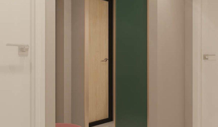 Дизайн интерьера двухкомнатной квартиры в ЖК Репин Парк 19