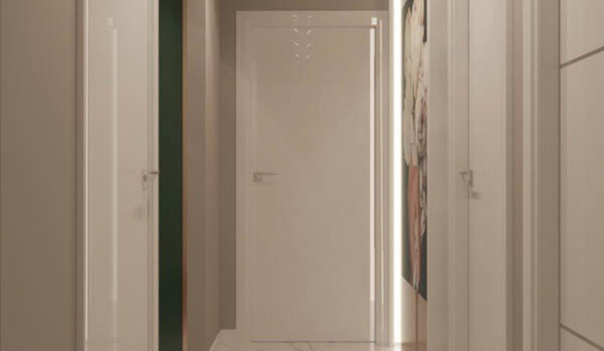 Дизайн интерьера двухкомнатной квартиры в ЖК Репин Парк 21