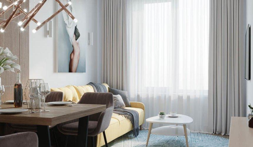 Дизайн интерьера двухкомнатной квартиры в ЖК Репин Парк 5