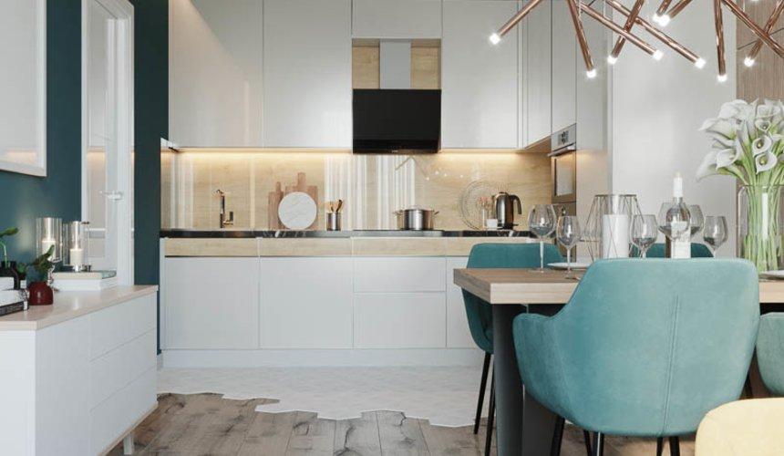 Дизайн интерьера двухкомнатной квартиры в ЖК Репин Парк 6