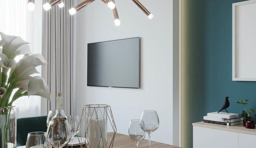 Дизайн интерьера двухкомнатной квартиры в ЖК Репин Парк 7