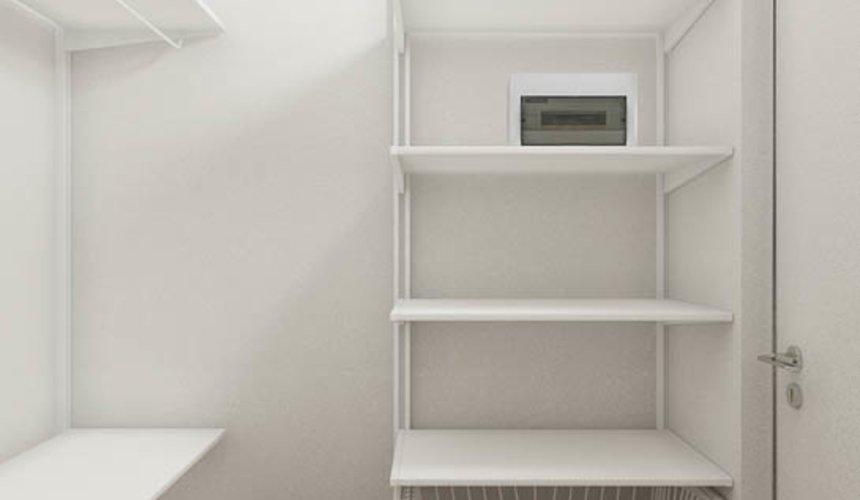Дизайн интерьера квартиры - студии в ЖК Стрелки 10