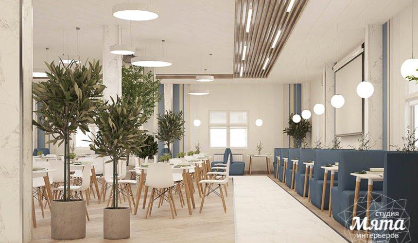 Дизайн интерьера помещений для АО Ирбитский молочный завод 3