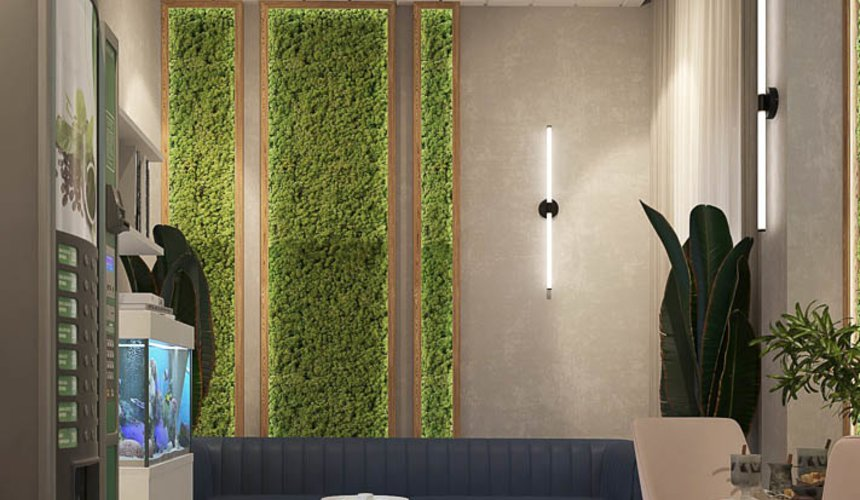 Дизайн интерьера помещений для АО Ирбитский молочный завод 45