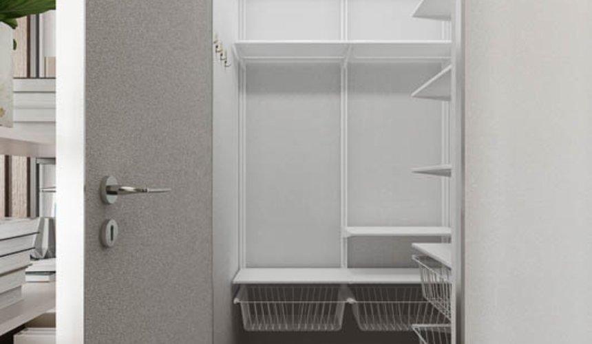 Дизайн интерьера квартиры - студии в ЖК Стрелки 6
