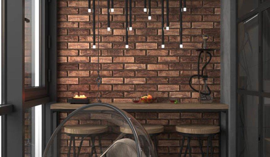Дизайн интерьера квартиры в стиле лофт 20